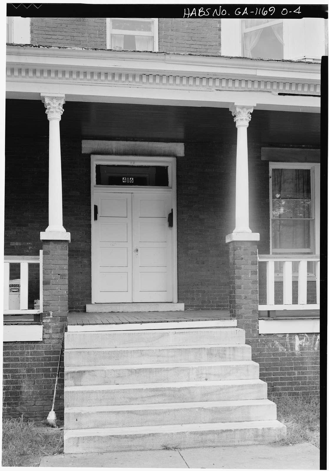 Savannah Victorian Historic District, 414-416 East Waldburg Street (House), Savannah, Chatham County, GA