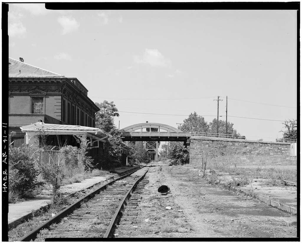 Second Street Bridge, Spanning Union Pacific Railroad lines, Little Rock, Pulaski County, AR