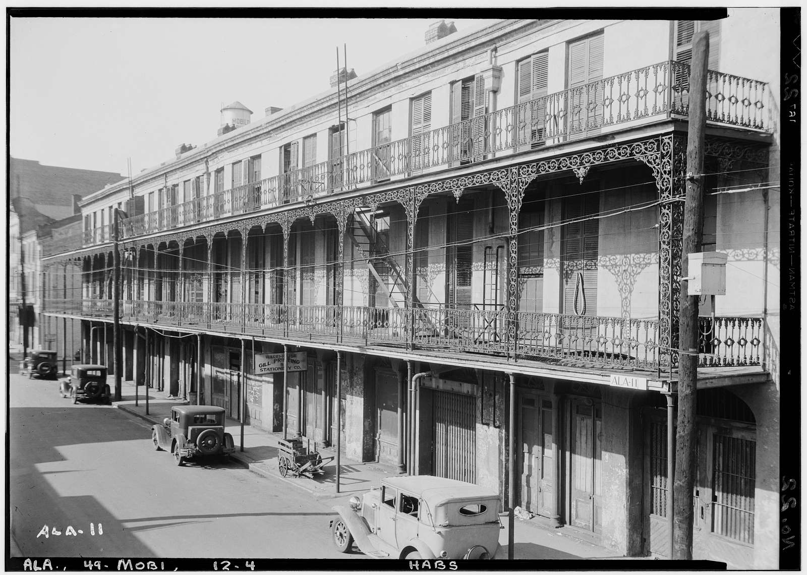 Southern Hotel, 53-65 Water Street, Mobile, Mobile County, AL