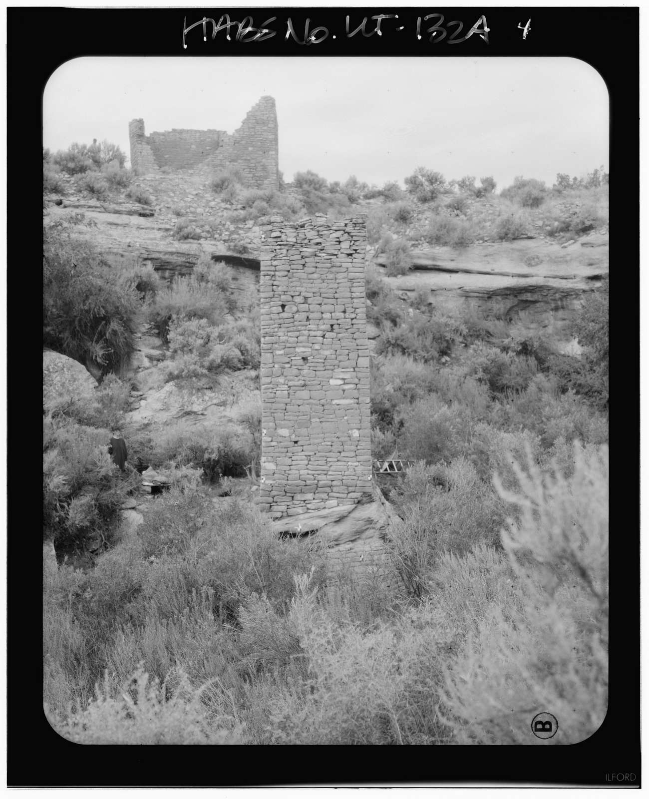 Square Tower Group, Square Tower, Near park headquarters, Aneth, San Juan County, UT