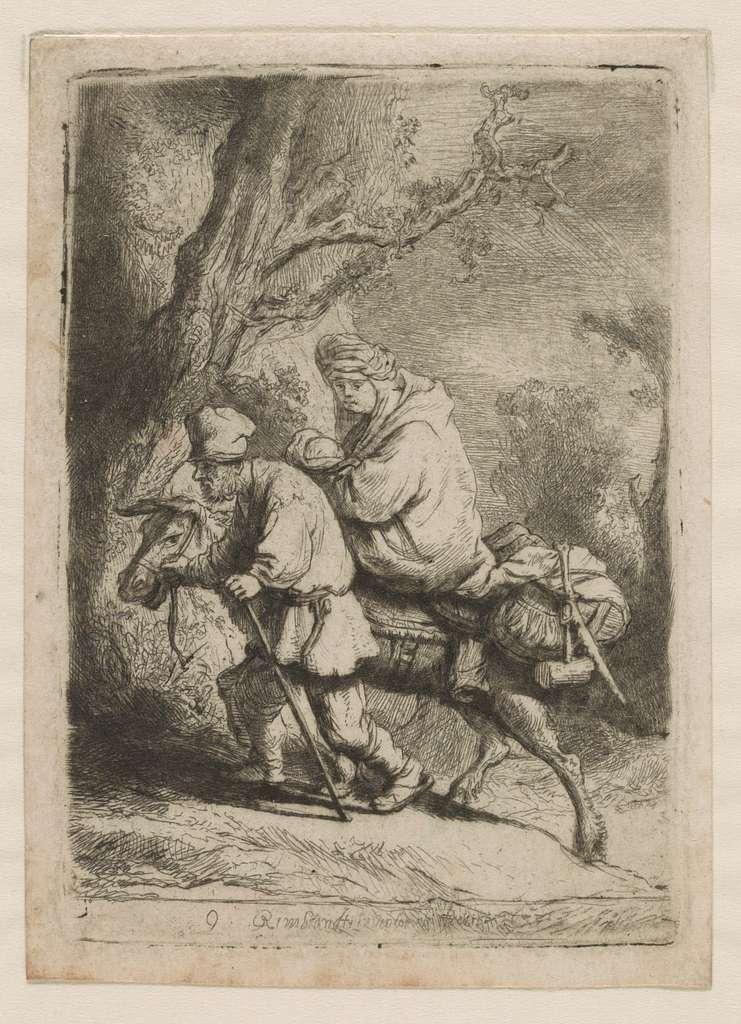 [Flight into Egypt] / Rembrandt.