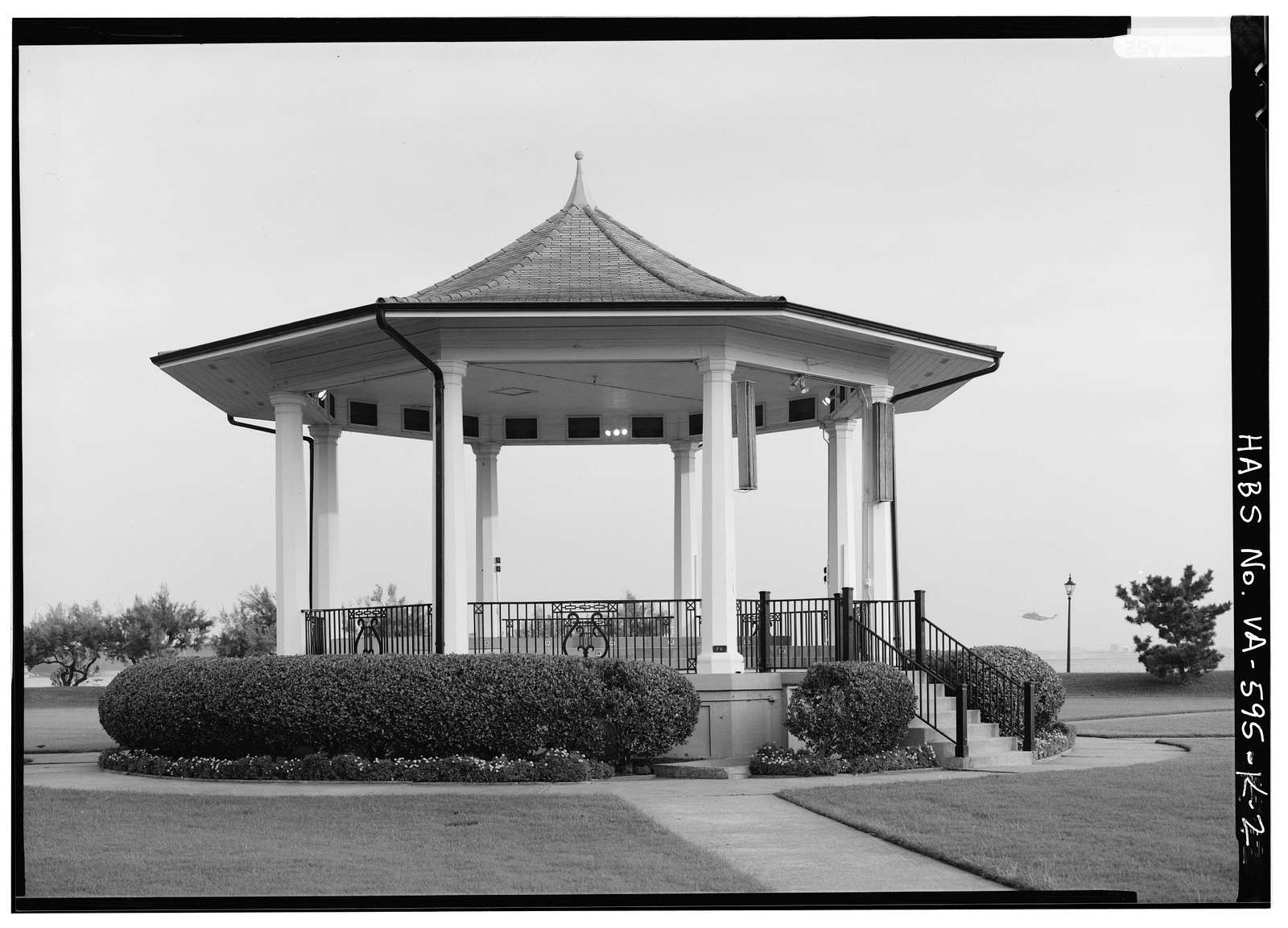 Fort Monroe, Bandstand, Fenwick Road, Hampton, Hampton, VA