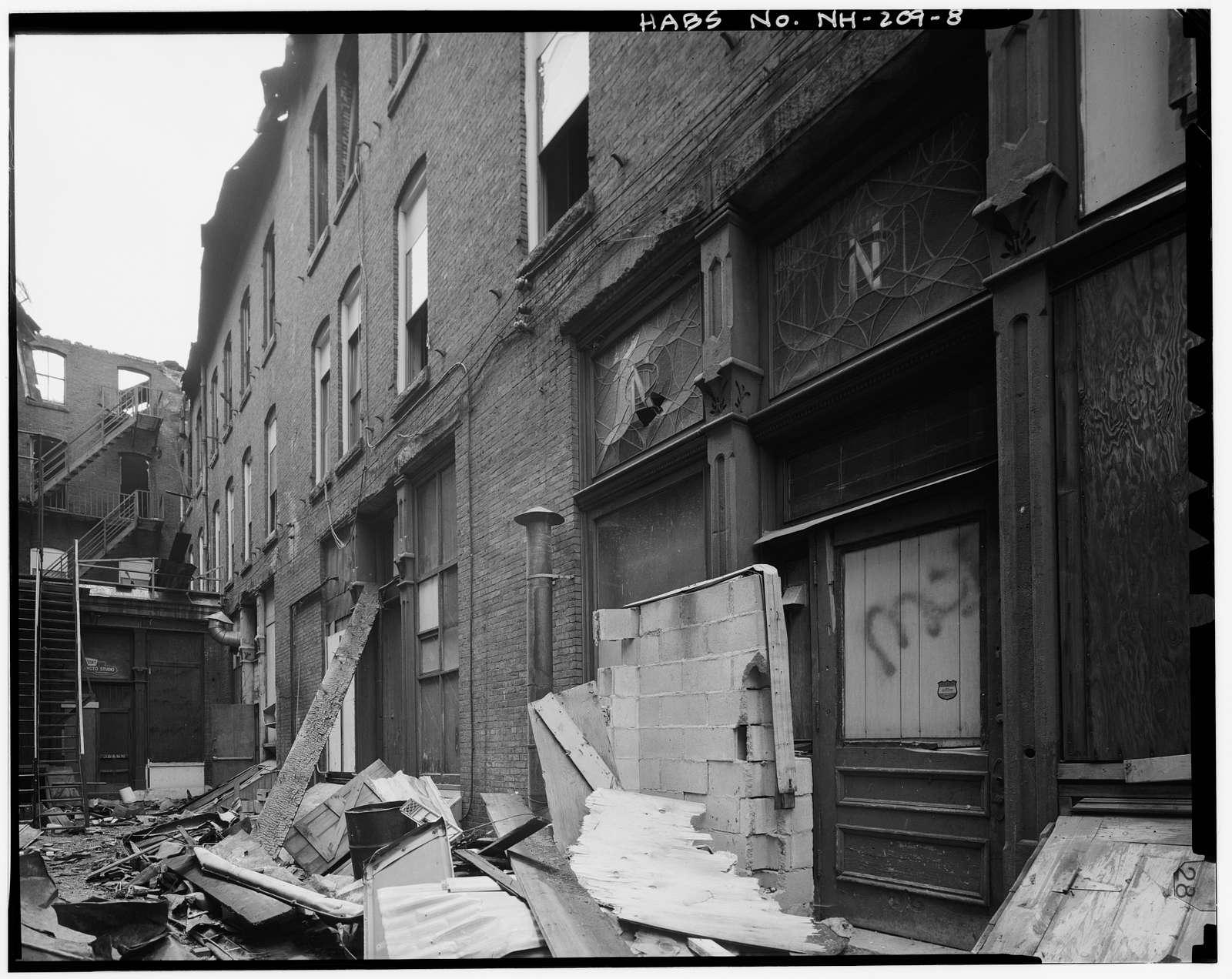 Harrington-Smith Block, 18-52 Hanover Street, Manchester, Hillsborough County, NH