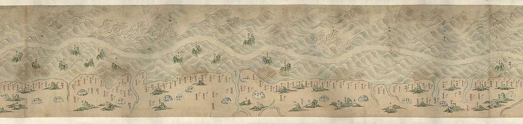 [Shandong, Zhili, Shengjing hai jiang tu]