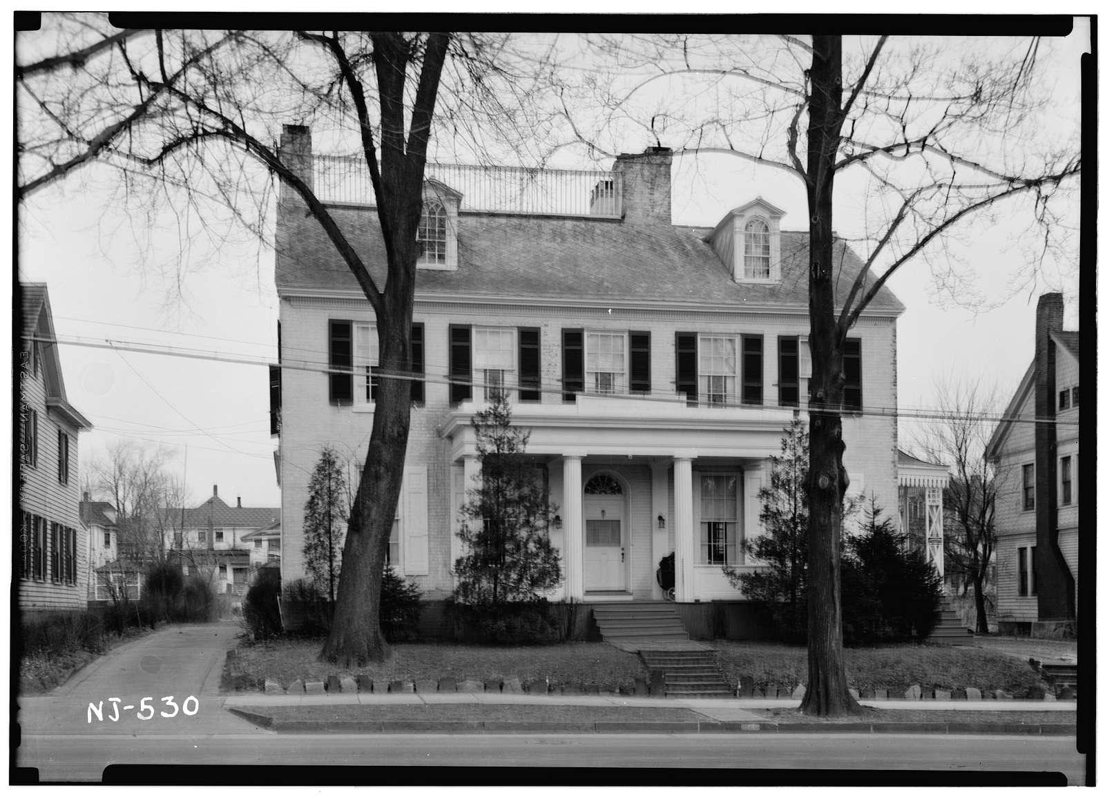 Buck-Elmer House, 297 East Commerce Street, Bridgeton, Cumberland County, NJ