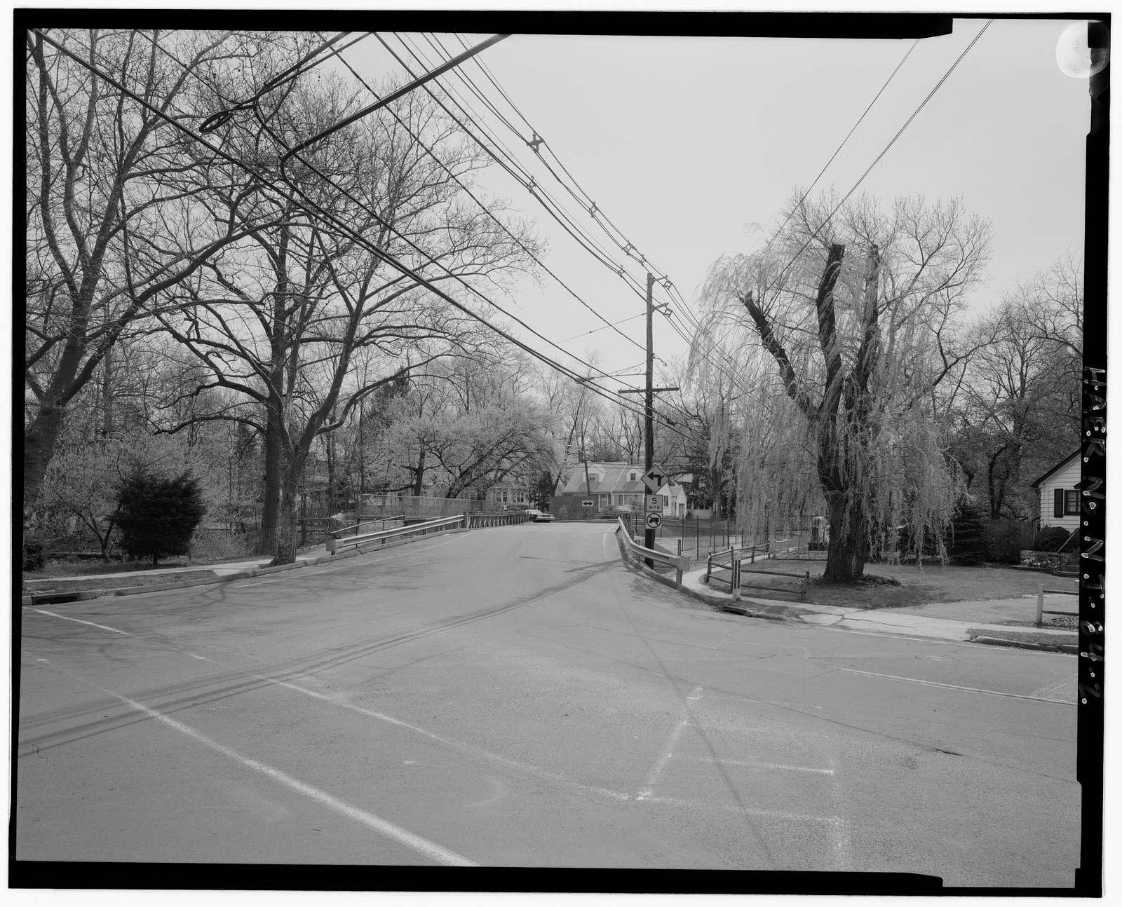Lincoln Avenue-High Street Bridge, Spanning Rahway River at Lincoln Avenue & High Street, Cranford, Union County, NJ