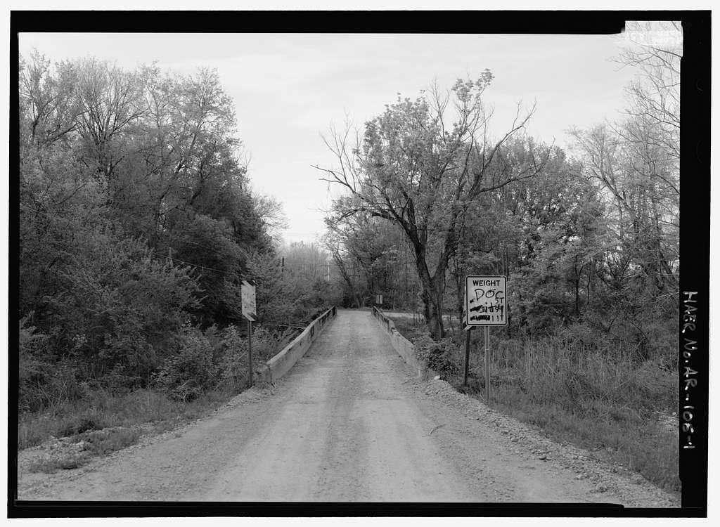 Miller Creek Bridge, Spanning Miller Creek at Miller Creek Road (CR 86), Batesville, Independence County, AR