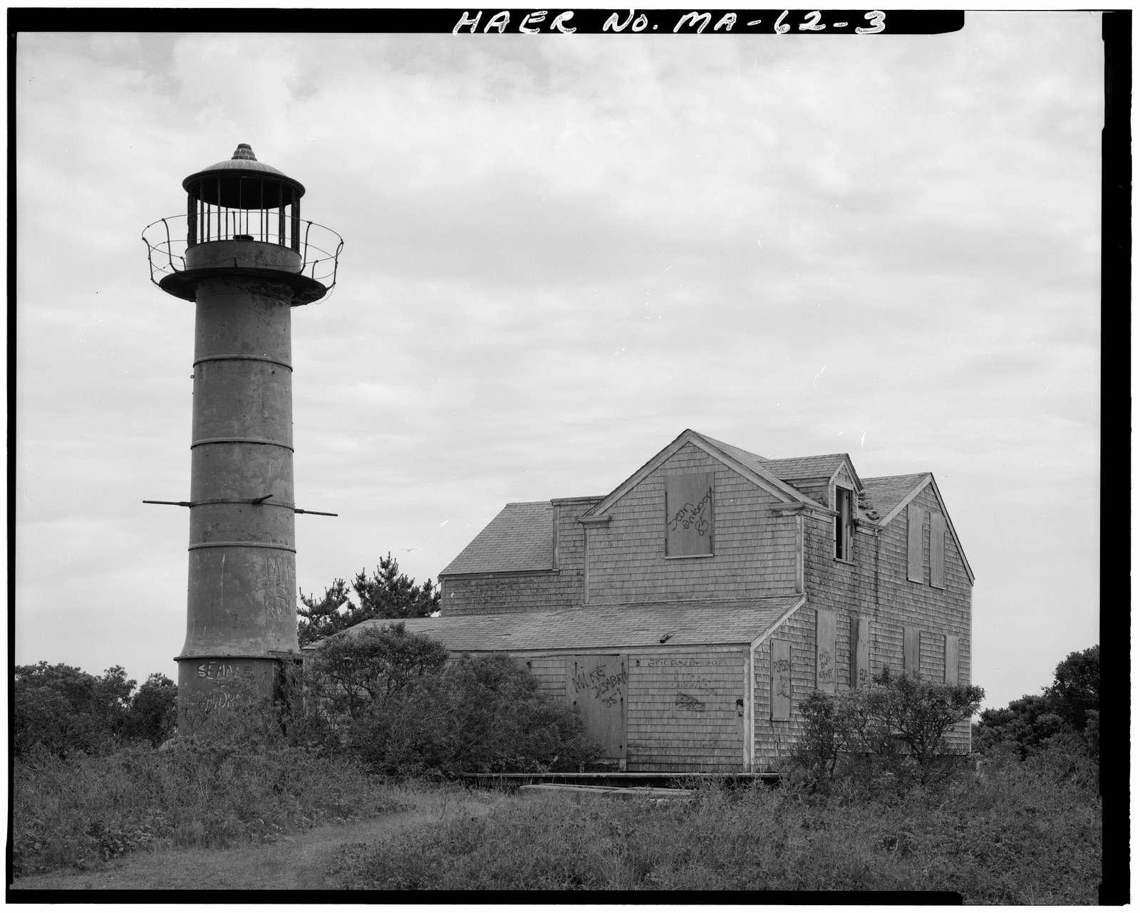Monomoy Point Light Station, Approximately 3500 feet Northeast Powder Hole Pond, Monomoy National Wildlife Refuge, Chatham, Barnstable County, MA