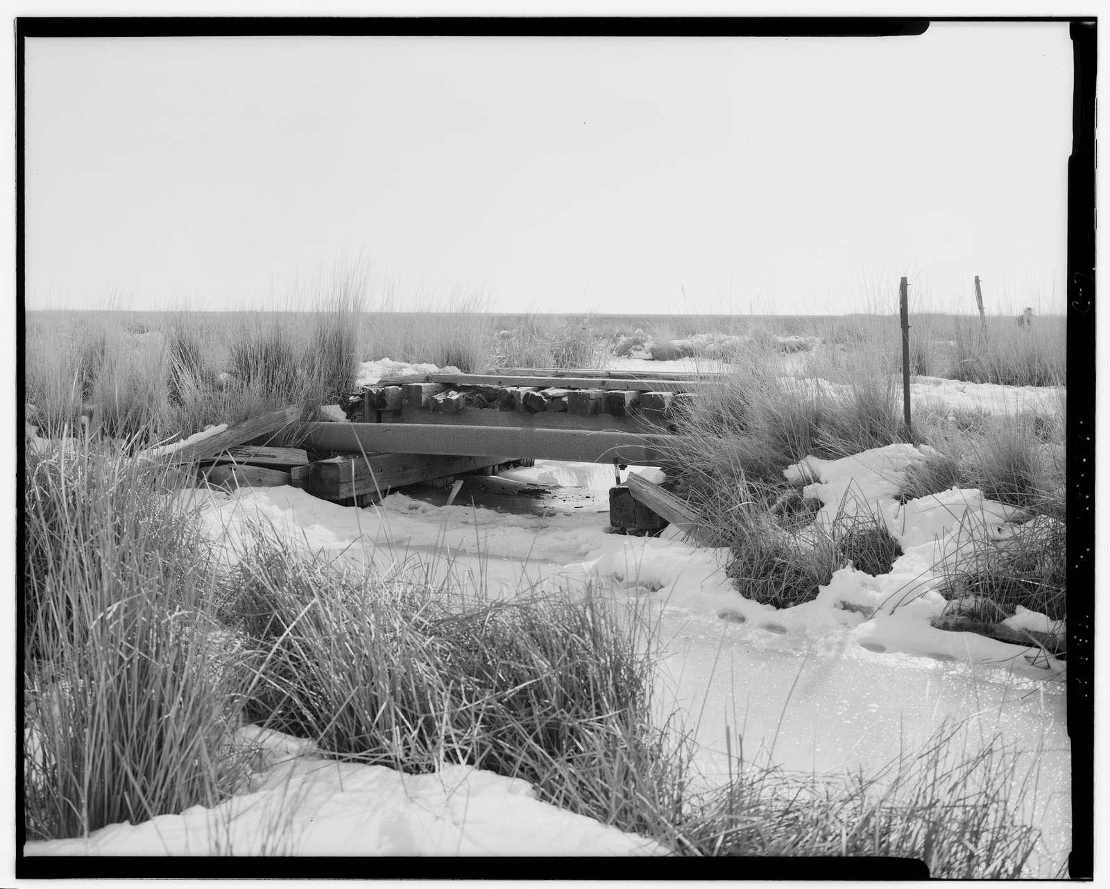 Promontory Route Railroad Trestles, Trestle 789C, 11 miles west of Corrine, Corinne, Box Elder County, UT