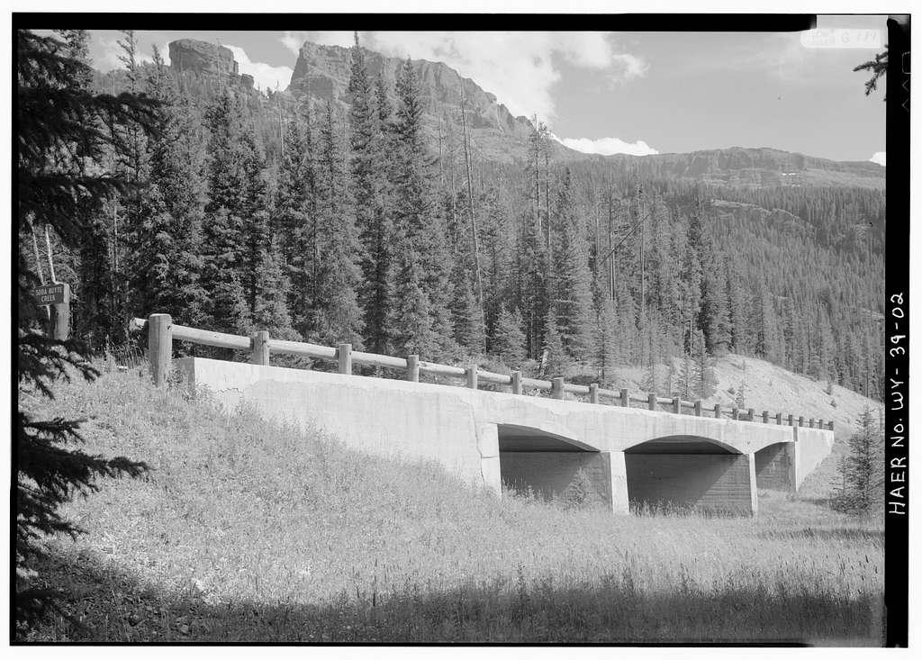 Soda Butte Creek Bridge No. 1, Spans Soda Butte Creek at Northeast Entrance Road, Lake, Teton County, WY