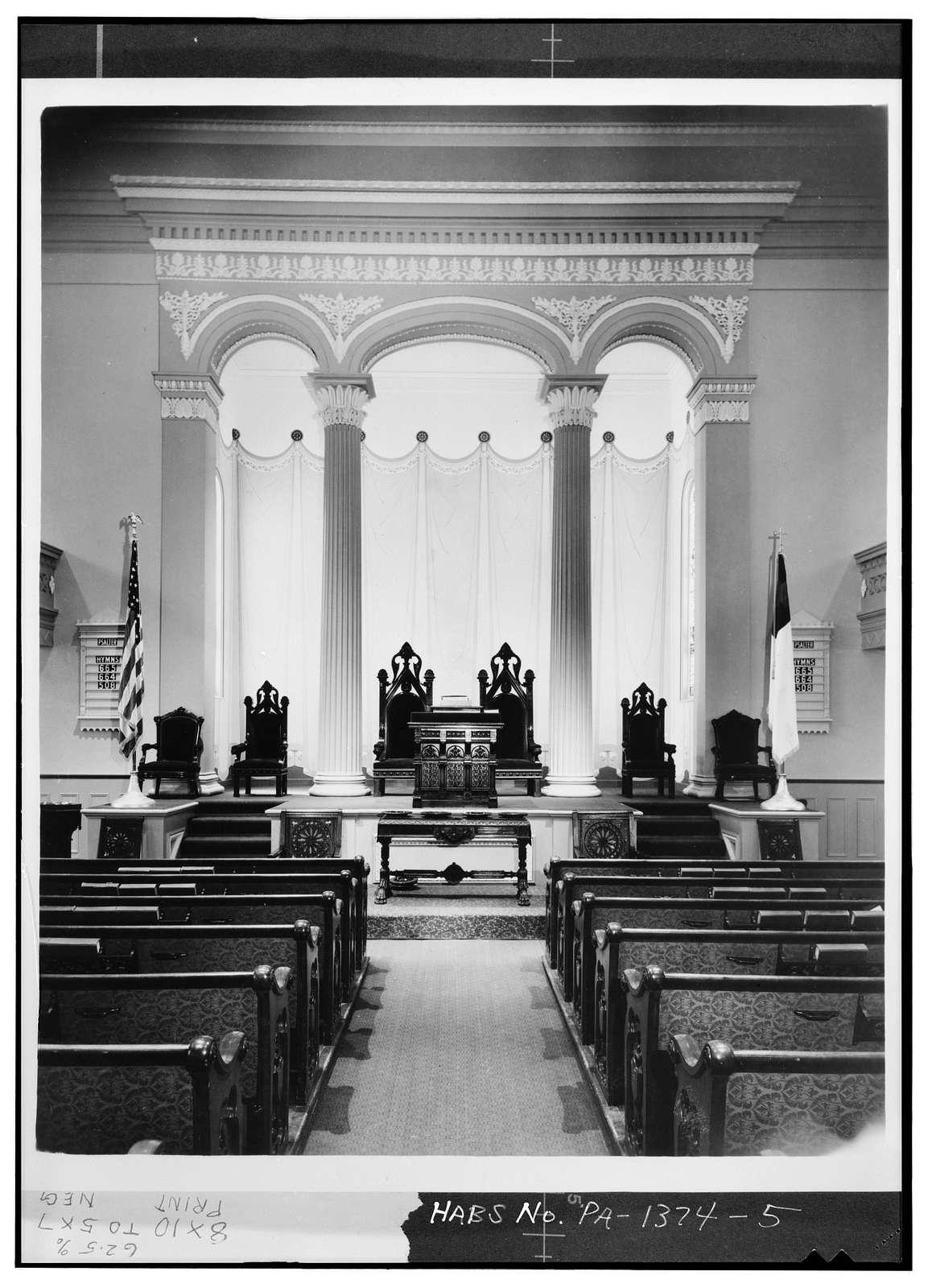 Third Presbyterian Church, 422 Pine Street, Philadelphia, Philadelphia County, PA