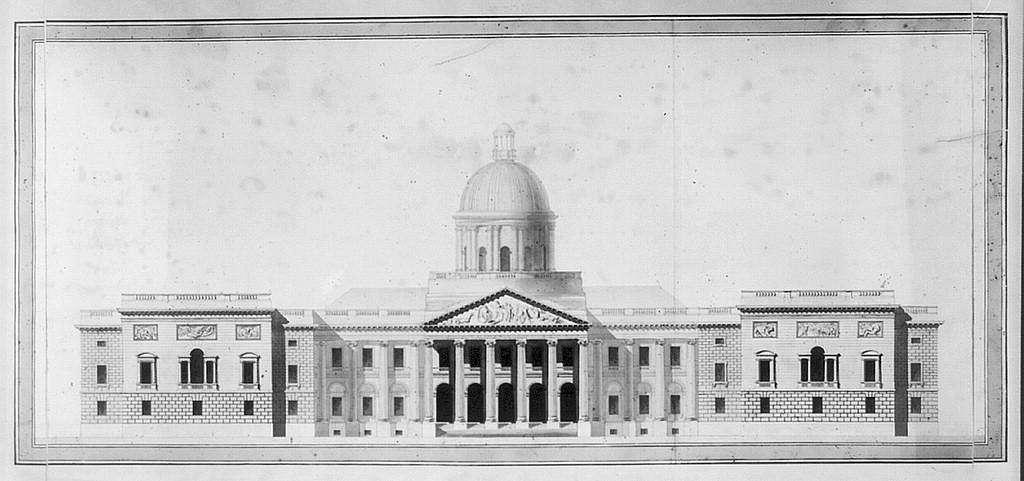 [United States Capitol, Washington, D.C. East front elevation, rendered]