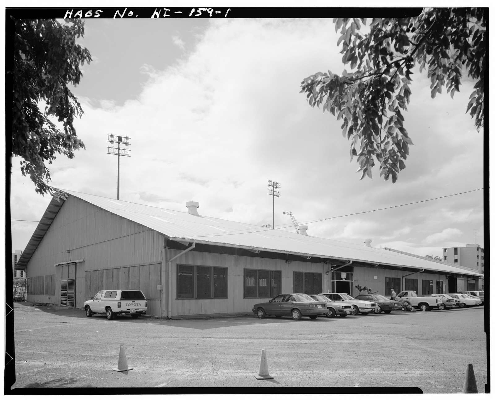 U.S. Naval Base, Pearl Harbor, Maintenance Shop, Nimitz Street next to Millican Field, Pearl City, Honolulu County, HI