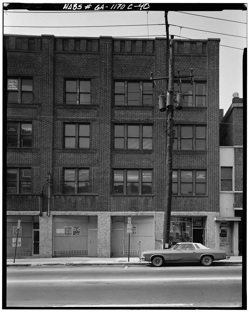 126-255 Auburn Avenue (Commercial Buildings), Auburn Avenue, Atlanta, Fulton County, GA