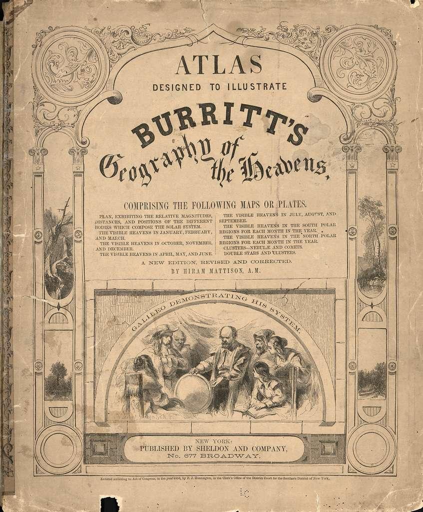 Atlas designed to illustrate Burritt's Geography of the heavens ... /
