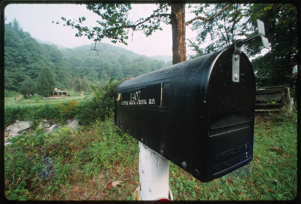 Ben Burnside's mailbox
