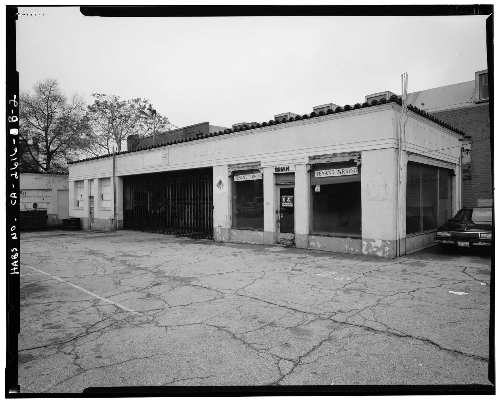 C.F. Forbes Gas Station, Automobile Repair Shop, 195 North Raymond Avenue, Pasadena, Los Angeles County, CA