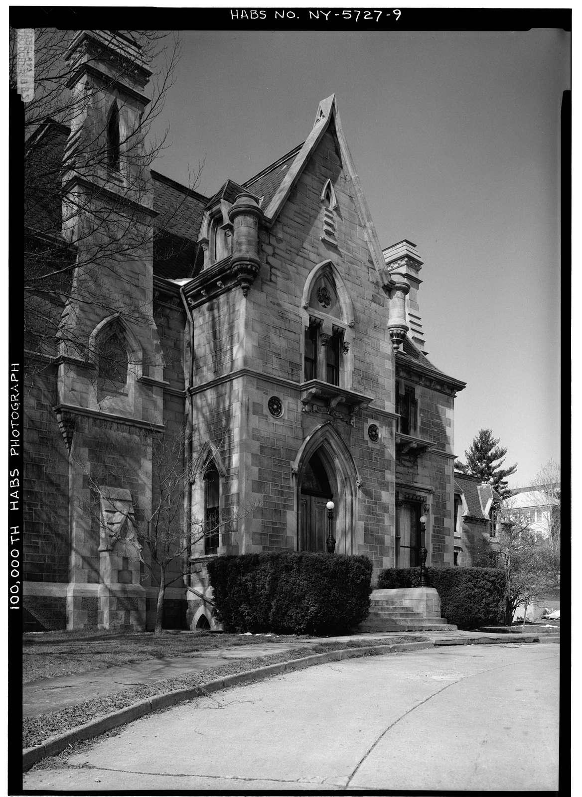 Cornell University, Llenroc, 100 Cornell Avenue, Ithaca, Tompkins County, NY