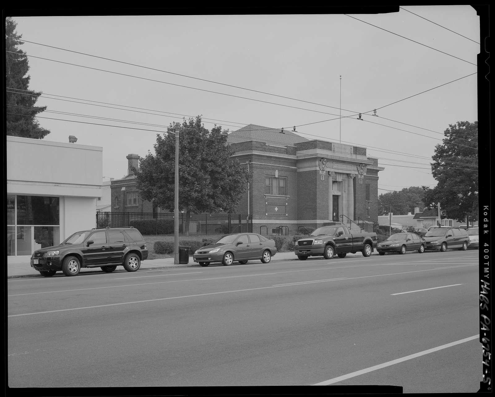 Free Library of Philadelphia, Thomas Holme Branch, 7810 Frankford Avenue, Philadelphia, Philadelphia County, PA