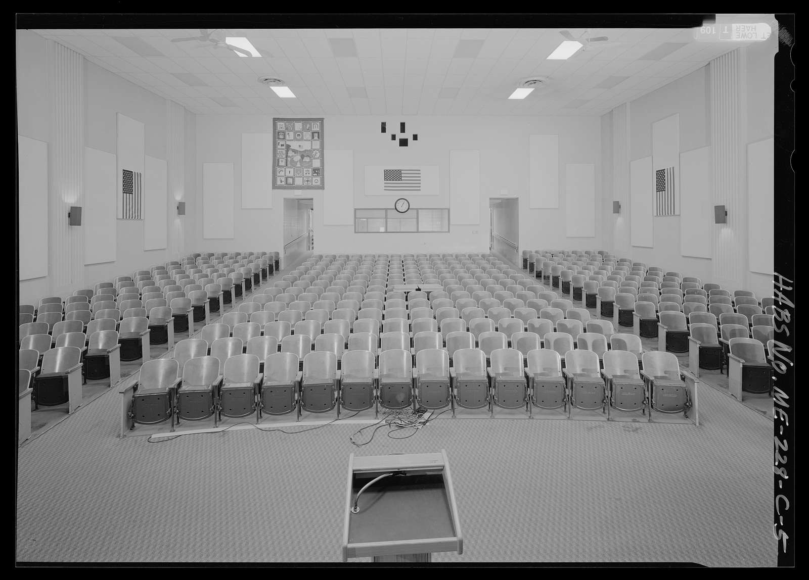 National Home for Disabled Volunteer Soldiers, Eastern Branch, Theater, 1 VA Center, Augusta, Kennebec County, ME