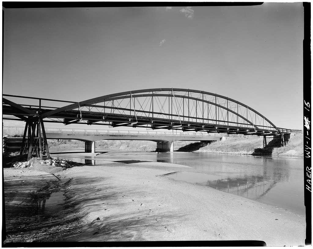 North Platte River Bowstring Truss Bridge, Spanning North Platte River, Fort Laramie, Goshen County, WY