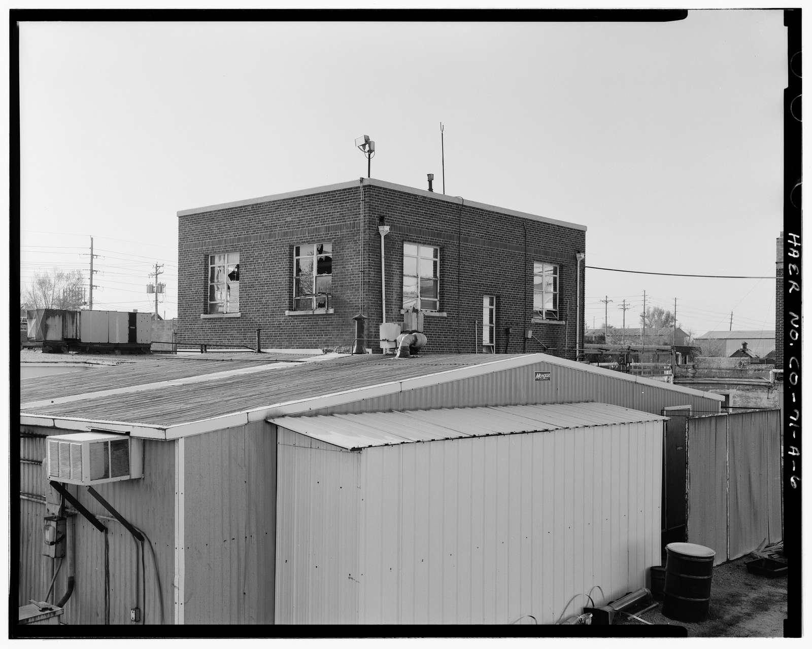 S. W. Shattuck Chemical Company, Incorporated, Building No. 1, 1805 South Bannock Street, Denver, Denver County, CO