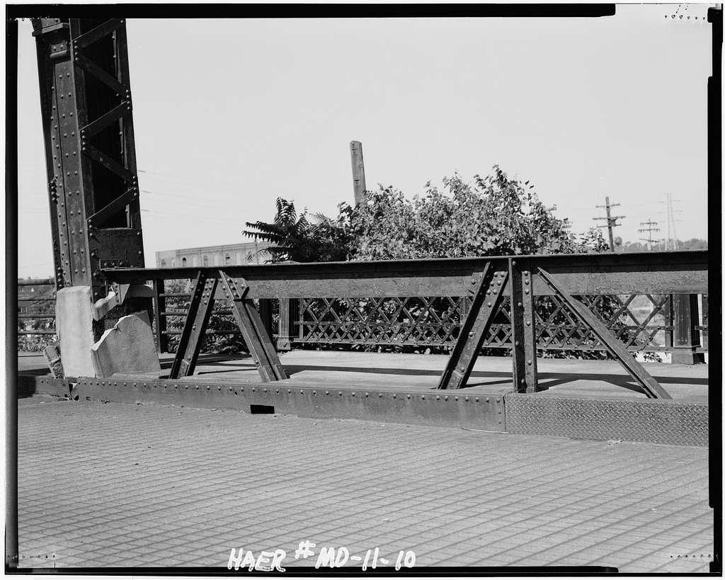 Twenty-first Street Bridge, Spanning Railroad tracks at Twenty-first Street, Saint Louis, Independent City, MO