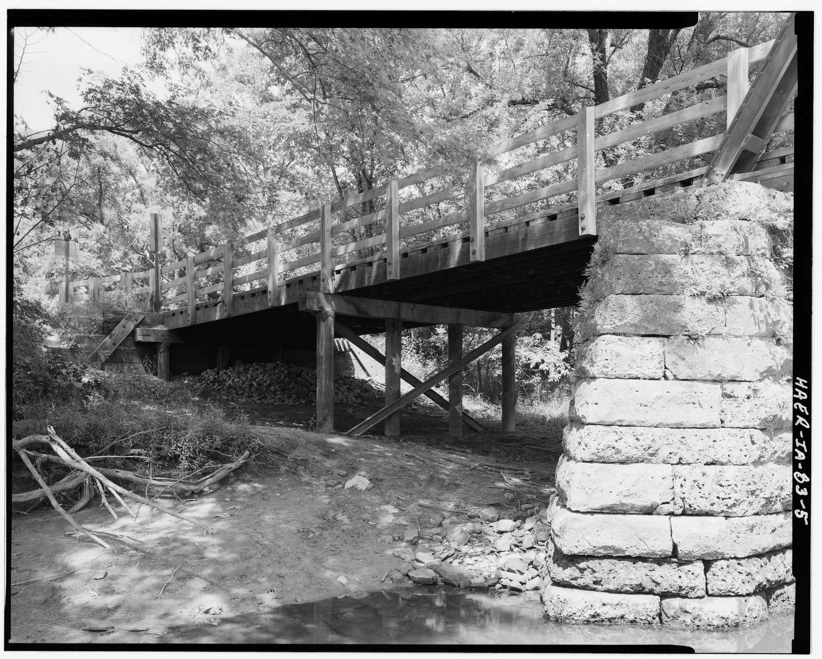 Upper Paris Bridge, Spanning Wapsipinicon River at Sutton Road, Paris, Linn County, IA