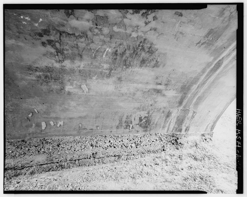 Vicksburg National Military Park Roads & Bridges, Melan Arch Bridges, Spanning various tributaries at Confederate Avenue, Vicksburg, Warren County, MS
