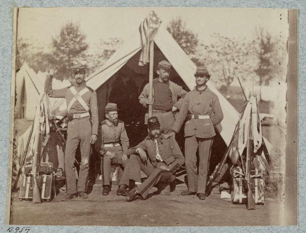 7th New York State Militia, Camp Cameron, D.C., 1861
