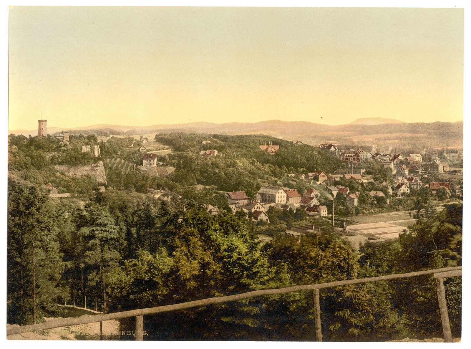 [Bielefield (i.e., Bielefeld), with Sparenburg, Westphalia, Germany]