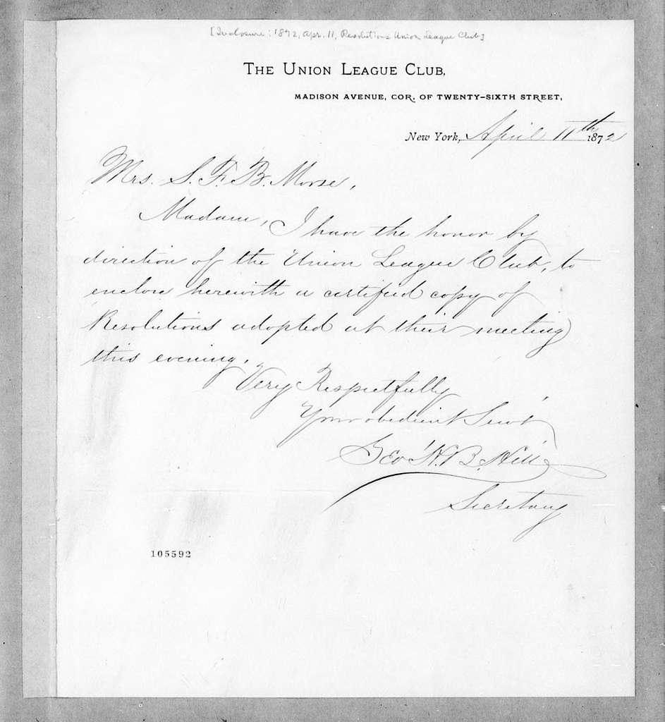 Bound volume---28 February 1871-10 August 1877