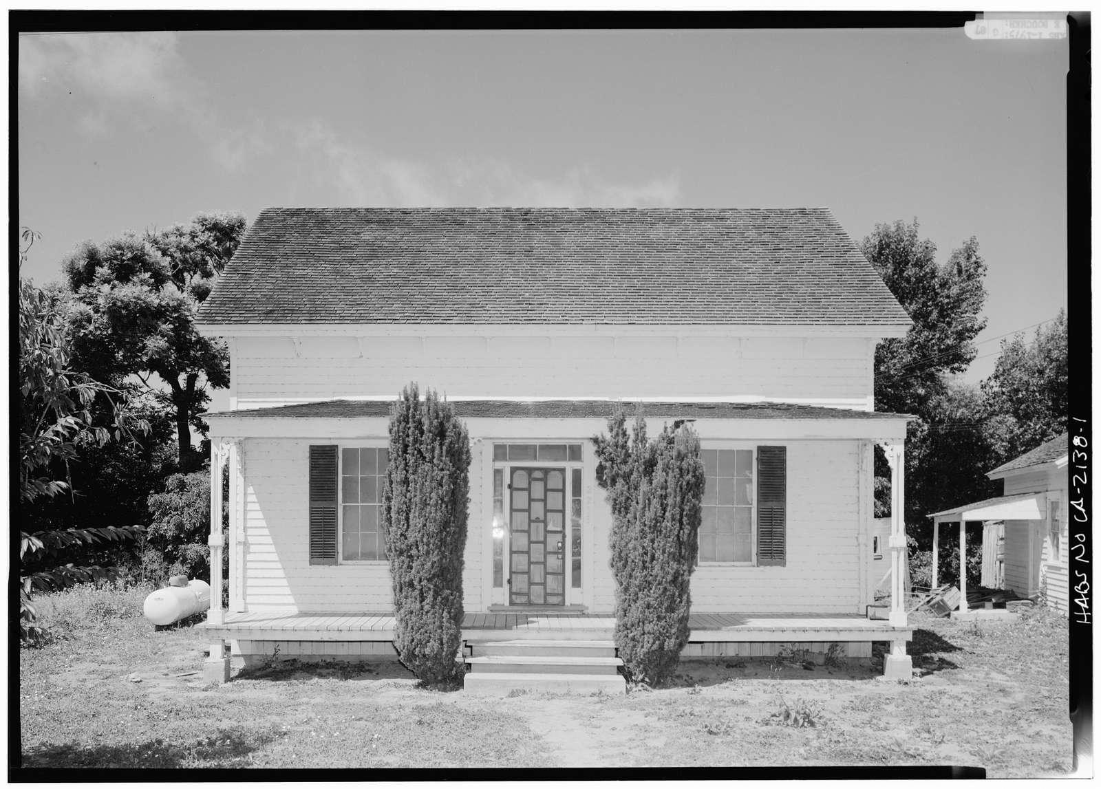 Braddock Weeks House, Pescadero Road, Pescadero, San Mateo County, CA