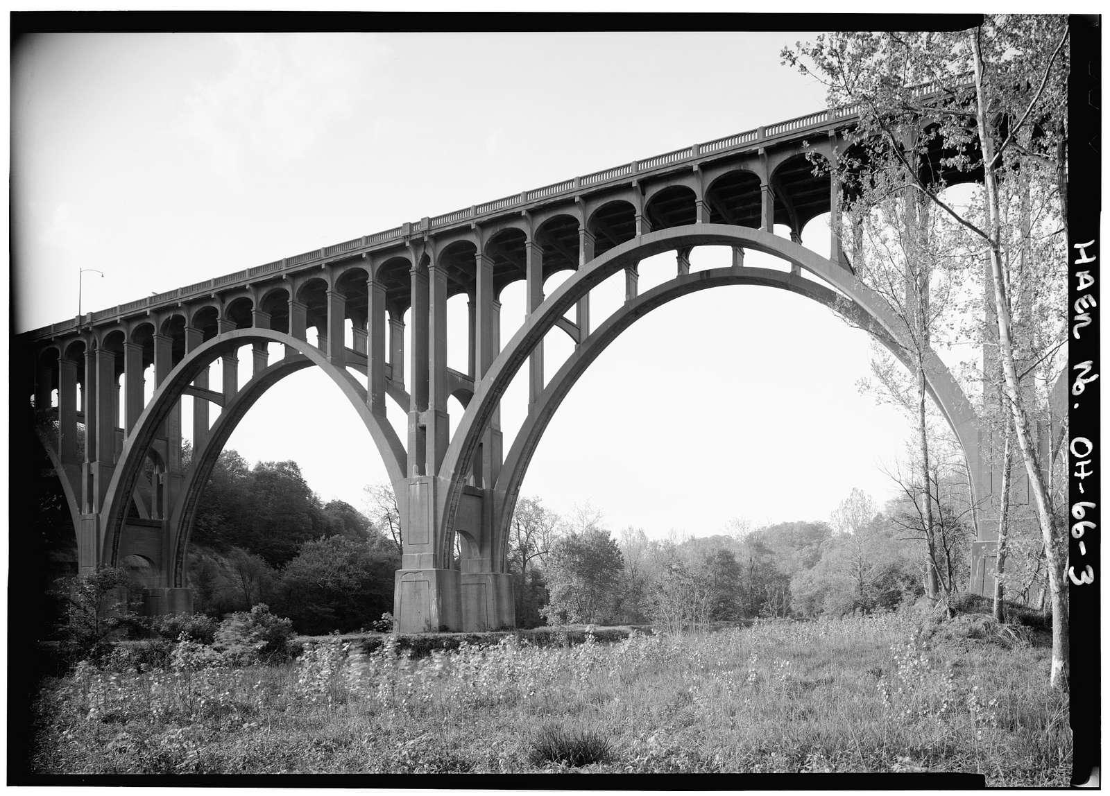 Brecksville-Northfield High Level Bridge, Spanning Cuyahoga River Between Brecksville & Northfield, Brecksville, Cuyahoga County, OH