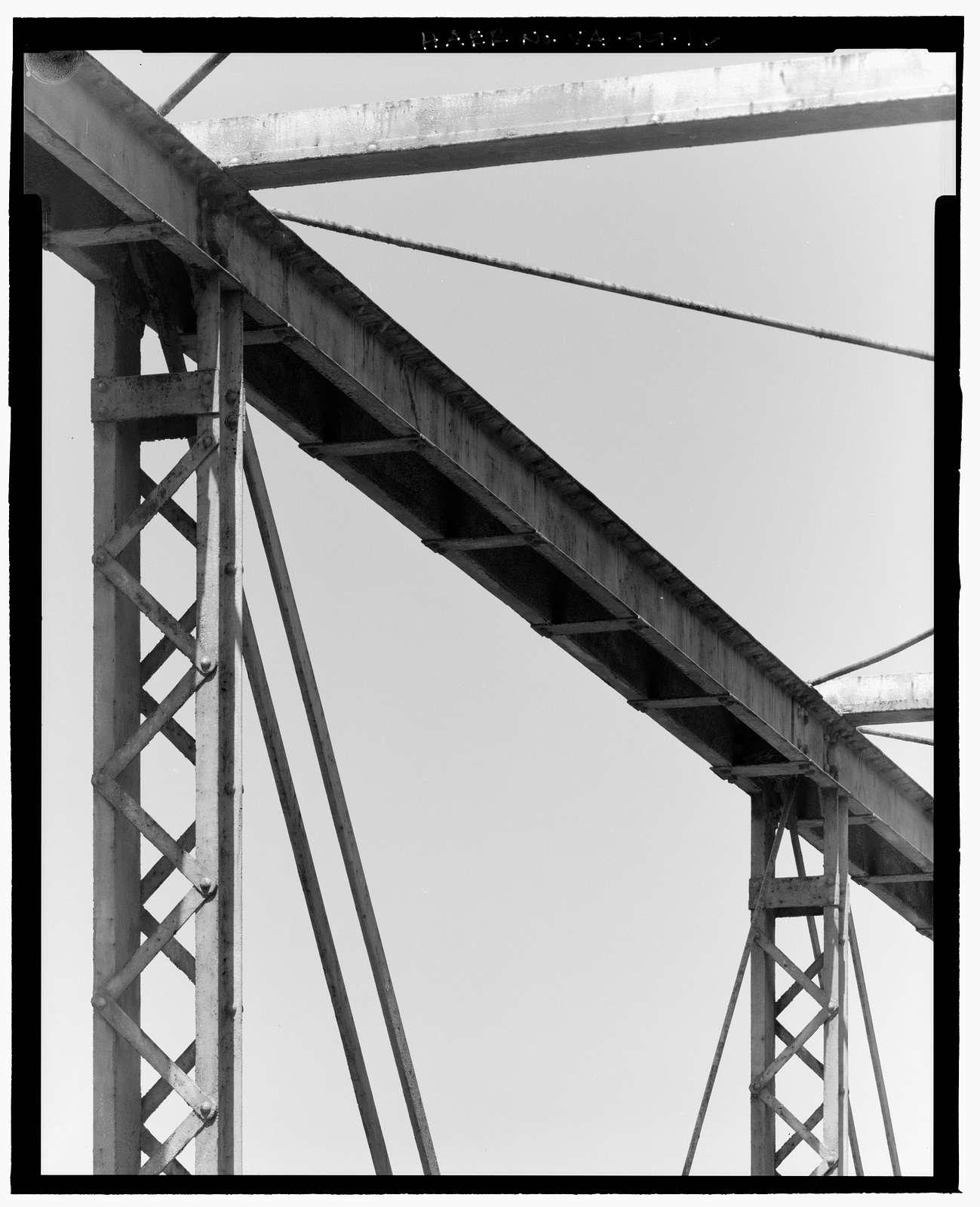 Carpenter's Ford Bridge, State Route 775, over Middle River, Crimora, Augusta County, VA
