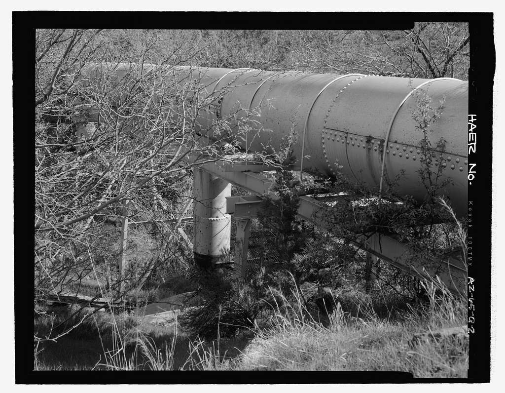Childs-Irving Hydroelectric Project, Childs System, Flume Bridge No. 4, Forest Service Road 708/502, Camp Verde, Yavapai County, AZ