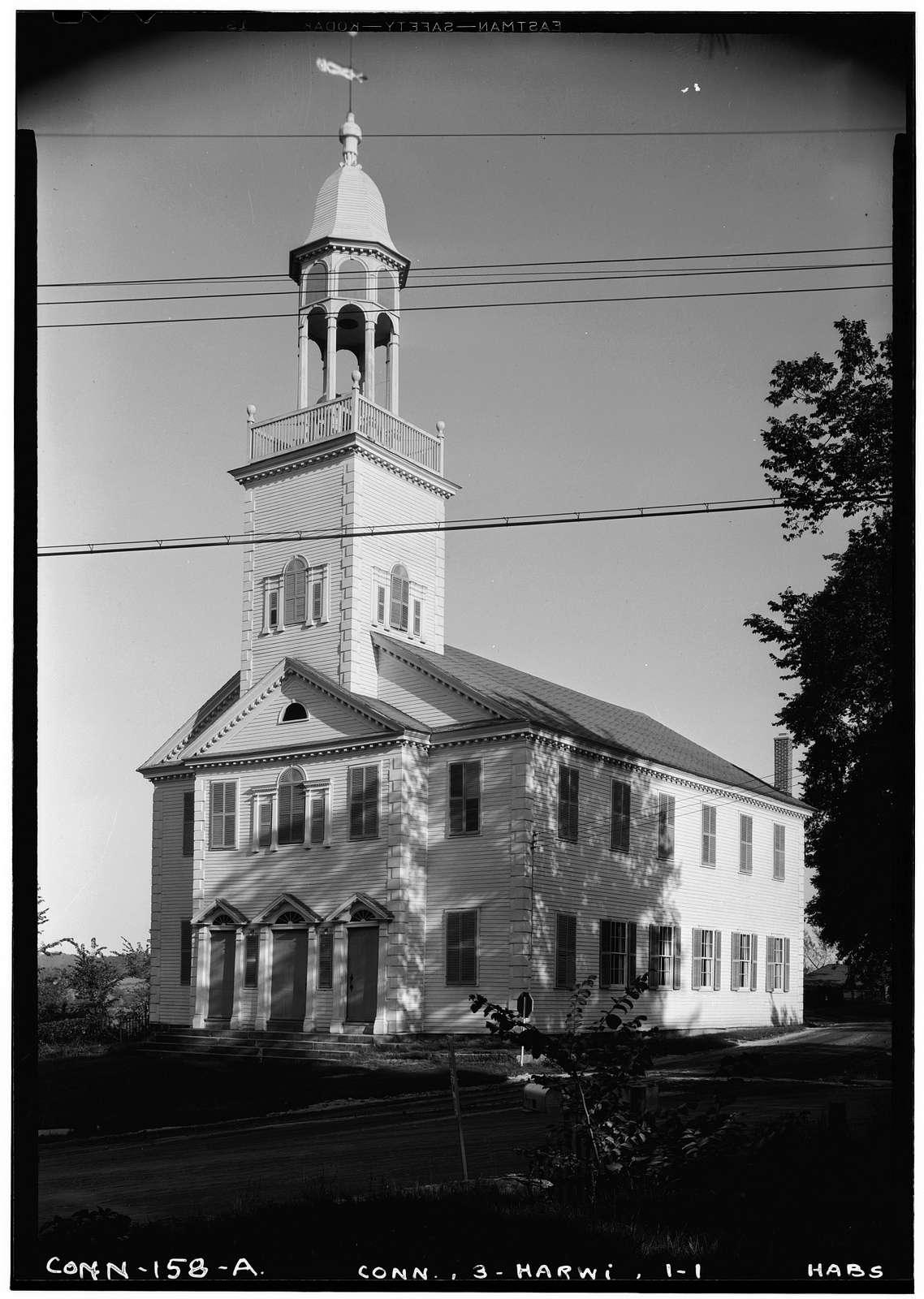 Congregational Church, Harwinton, Litchfield County, CT