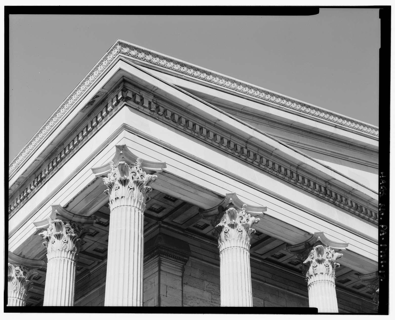 Girard College, Founder's Hall, Girard & Corinthian Avenues, Philadelphia, Philadelphia County, PA