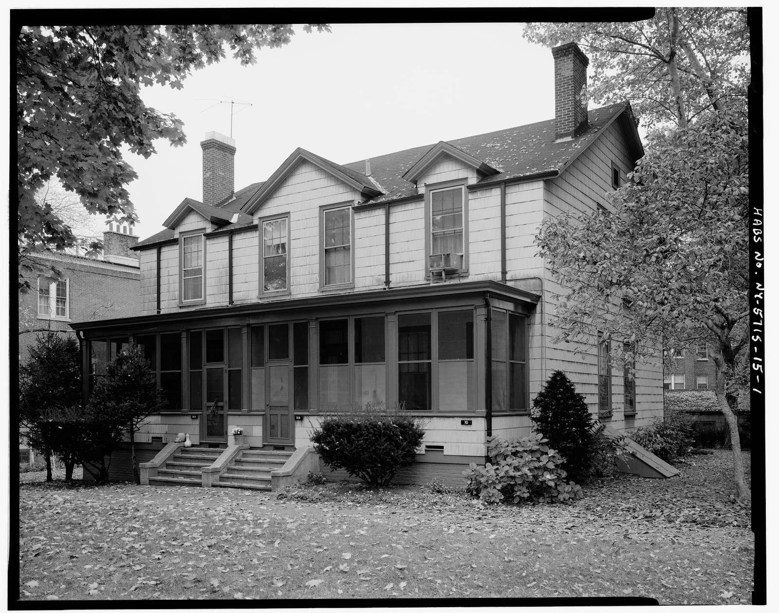 Governors Island, Quarters No. 10, New York Harbor, Nolan Park, New York, New York County, NY