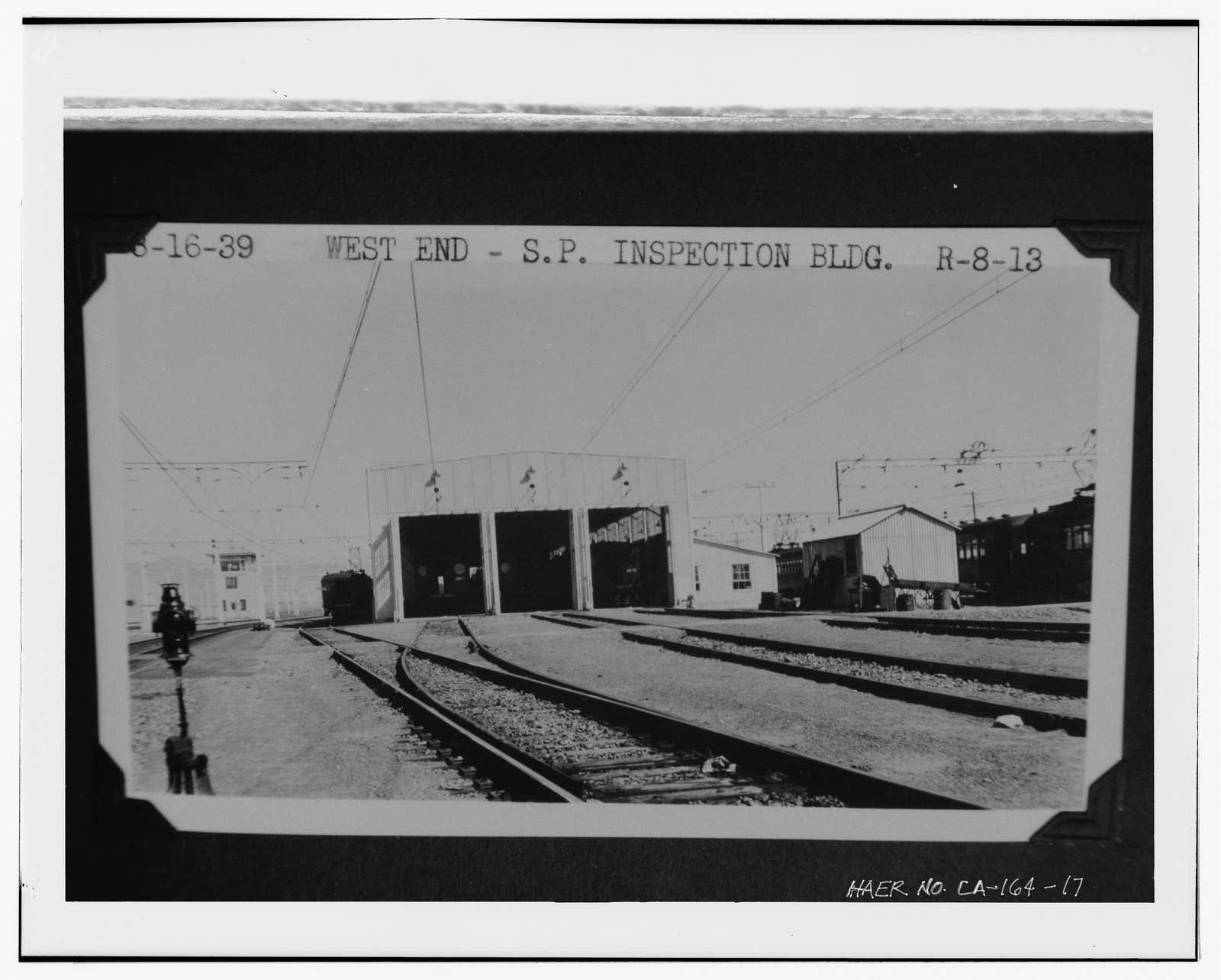 Interurban Electric Railway Bridge Yard Shop, Interstate 80 at Alameda County Postmile 2.0, Oakland, Alameda County, CA