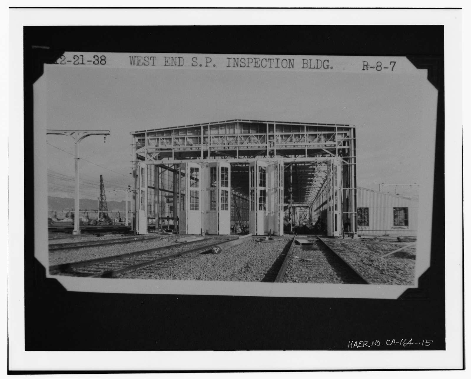 Interurban Electric Railway Bridge Yard Shop, Interstate 80 at Alameda County Postmile 2.0, Oakland, Alameda County, CA