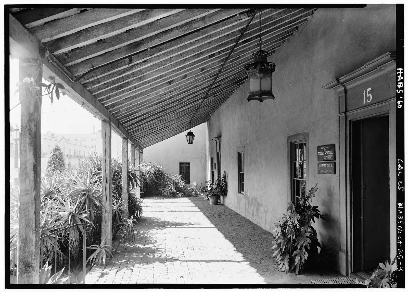 La Casa de Joaquin Carillo, 11 East Carrillo Street, Santa Barbara, Santa Barbara County, CA