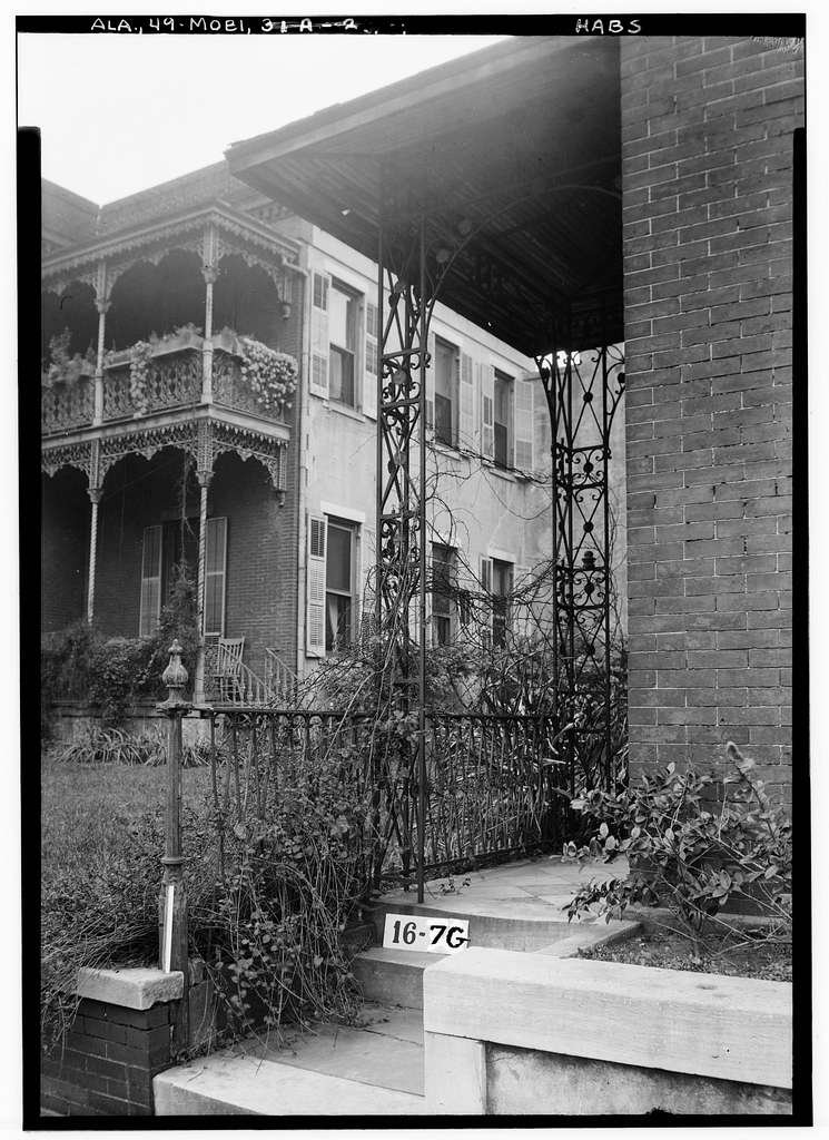 Madame LeVert House & Office, 151 & 153 Government Street, Mobile, Mobile County, AL