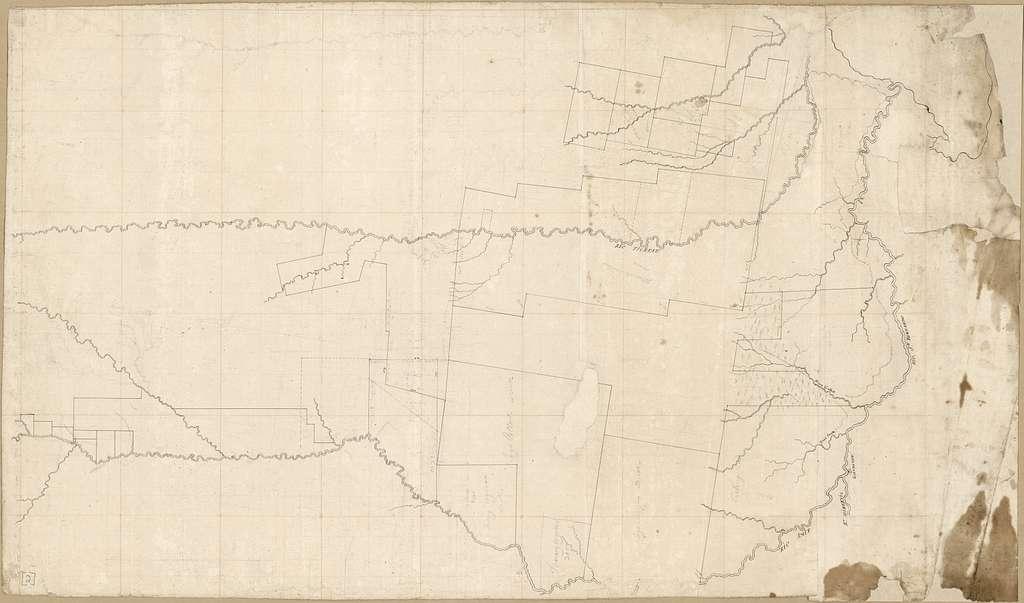 [Map of area of the rivers Tickfaw, Amite, and San Bernardo, Spanish West Florida].