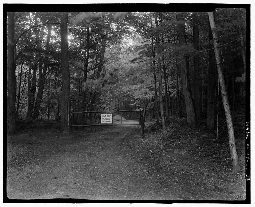 Marsh-Billings-Rockefeller Carriage Roads, Woodstock, Windsor County, VT