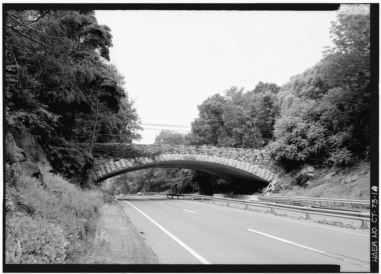 Merritt Parkway, Guinea Road Bridge, Spanning Merritt Parkway, Stamford, Fairfield County, CT
