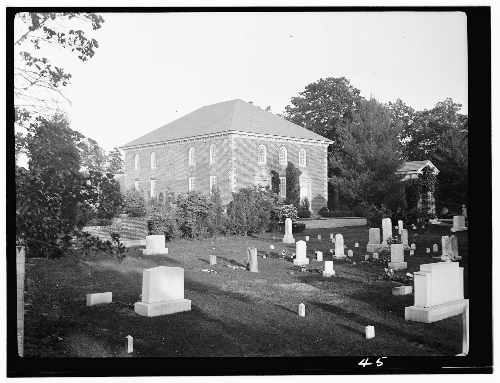 Pohick Church, 9301 Richmond Highway, Lorton, Fairfax County, VA
