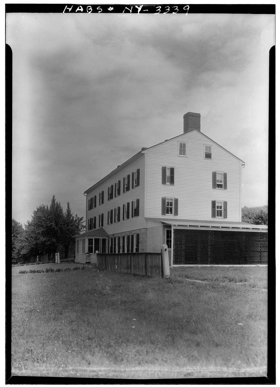 Shaker Centre Family Dwelling House (second), Shaker Road, New Lebanon, Columbia County, NY