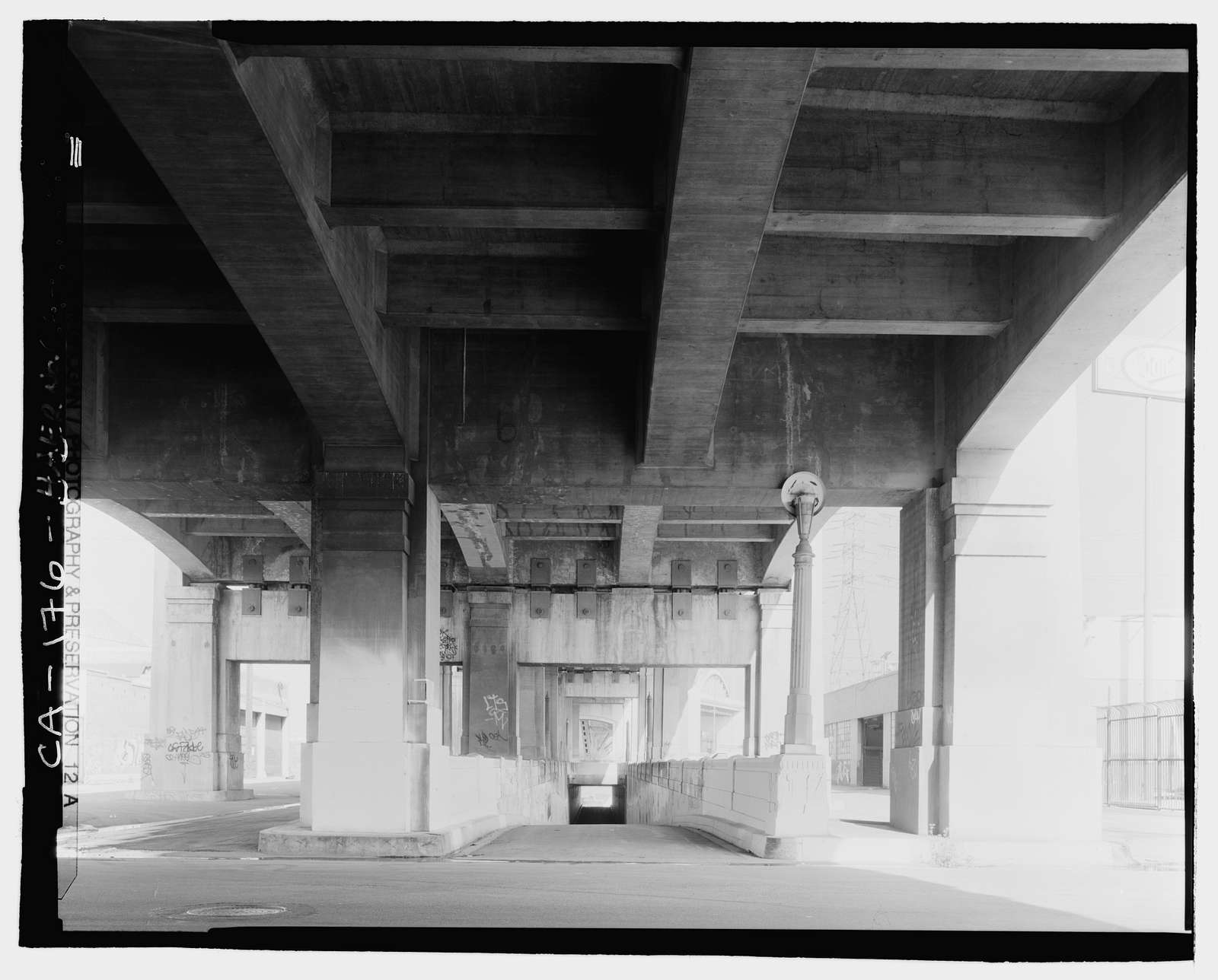 Sixth Street Bridge, Spanning 101 Freeway at Sixth Street, Los Angeles, Los Angeles County, CA