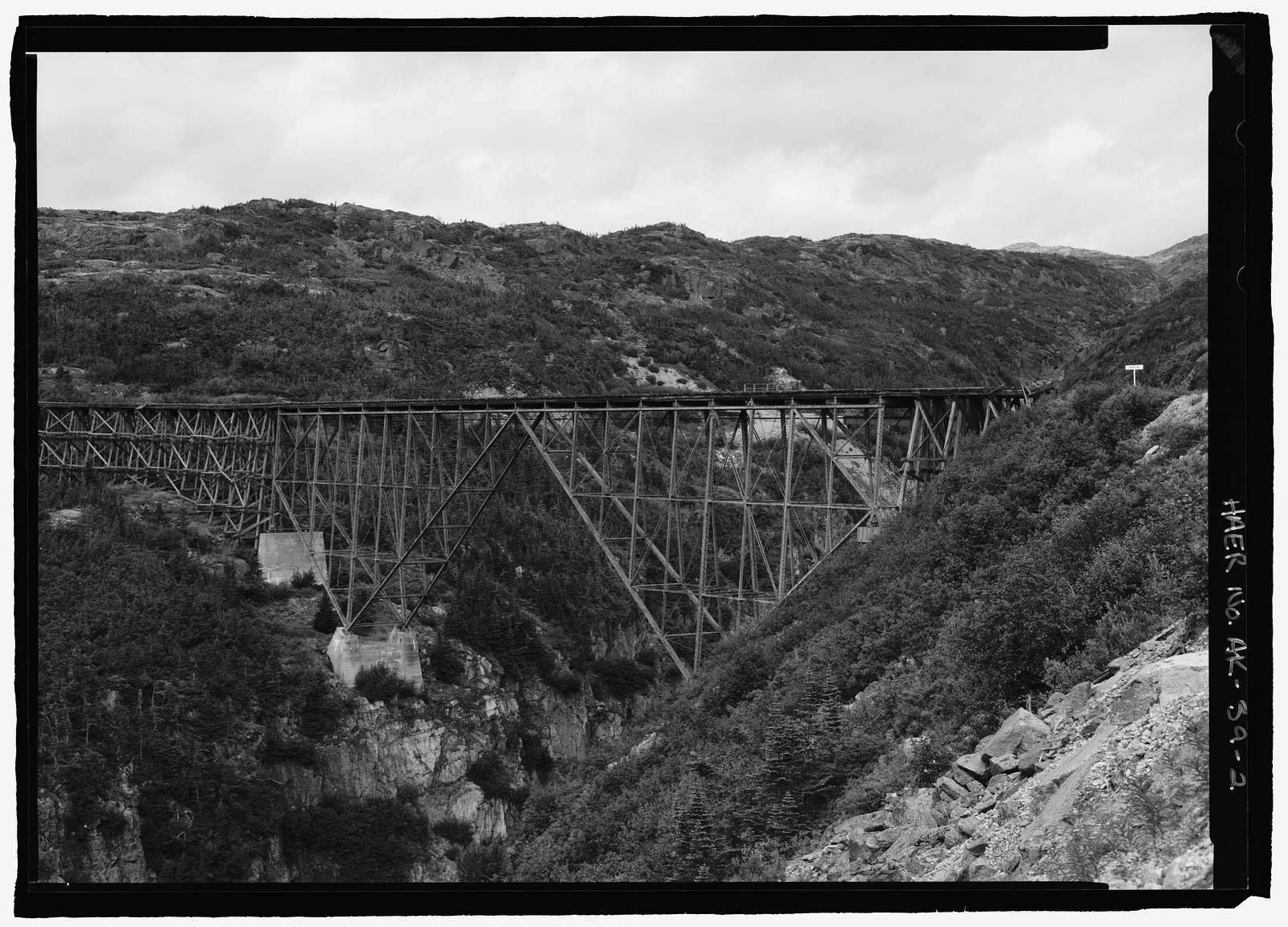 White Pass & Yukon Railroad, Cantilever Bridge, Skagway, Skagway, AK